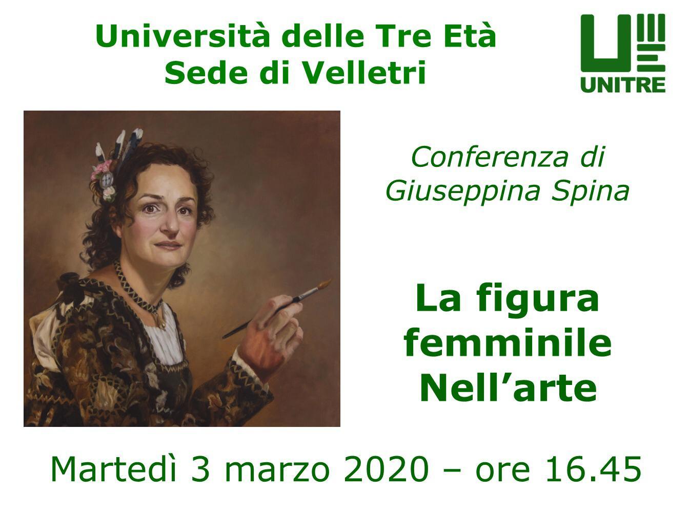 Conferenza: La figura femminile nell'Arte