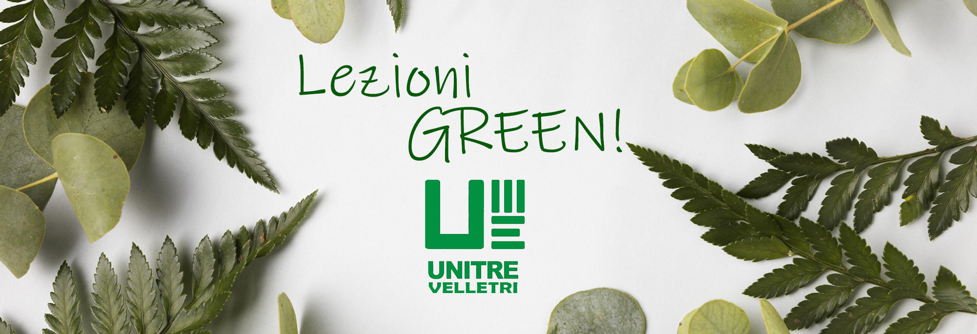 Unitre Velletri – Lezioni Green!